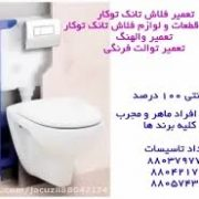 فروش و خدمات توالت فرنگی,فلاش تانک توکار,والهنگ دیواری زمینی-توالت فرنگی دیواری